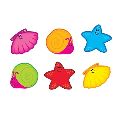 Trend Mini Accents Variety Pack, Seashore Friends