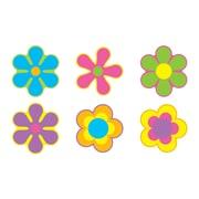 "TREND T-10923 6"" DieCut Classic Flower Power Mini Accents, Multicolor"