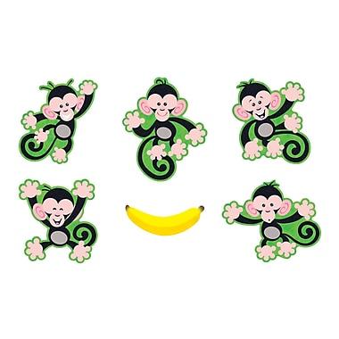 Trend Enterprises® Classic Accents, Monkey Mischief, 36/Pack (T-10941)