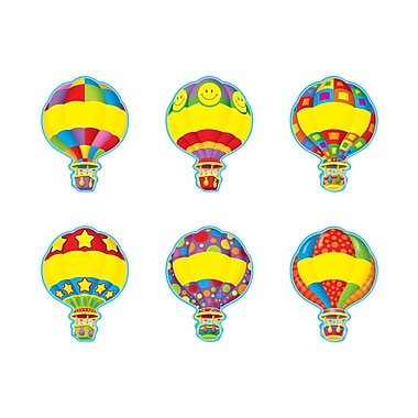Trend Enterprises® Pre-kindergarten - 6th Grades Classic Accents®, Hot Air Balloons