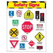 Trend Enterprises® Safety Signs Learning Chart