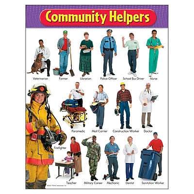 Trend® Learning Charts, Community Helpers