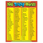 Trend Enterprises® 100 Tricky Words Learning Chart