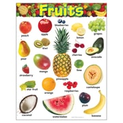Trend Enterprises® Fruits Learning Chart