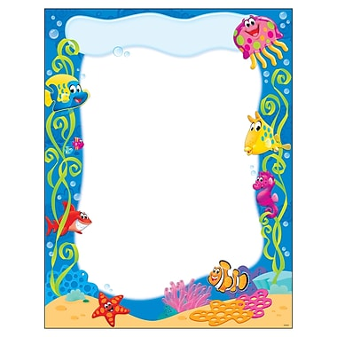 Trend Enterprises® Sea Buddies™ Learning Chart, Grade PreK - 3rd