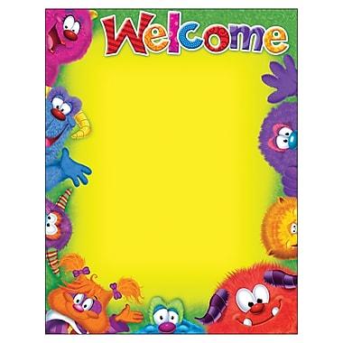 TREND Enterprises T-38431 Furry Friends Blank Welcome Learning Chart