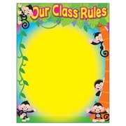 Trend Enterprises® Monkey Mischief® Our Class Rules Learning Chart