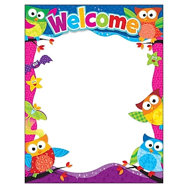 Trend Enterprises® Owl Stars™ Learning Chart, Welcome