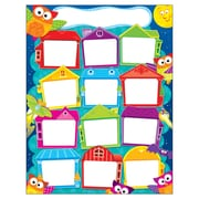 Trend Enterprises® Owl Stars™ Learning Chart, Year Round Houses