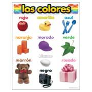 Trend Enterprises® Los Colores (Colors) Spanish Learning Chart
