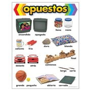 Trend Enterprises® Opuestos (Opposites) Spanish Learning Chart