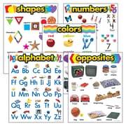 Trend Enterprises® Learning Charts Combo Packs Kindergarten Basic Skills