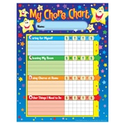 Trend Enterprises® Stars Chore/Progress Chart, 125/Pack (T-73106)
