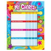 Trend Enterprises T-73130 Praise Words N Stars Chore Chart, 100/Pack (T-73130)