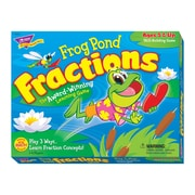 Trend Enterprises® Frog Pond Fractions Learning Game, Grades Kindergarten - 3rd
