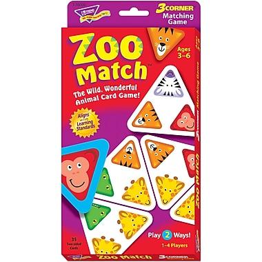 Trend Enterprises® Logic Game, Zoo Match