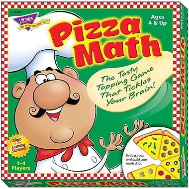 Trend Enterprises Learning Educational Pizza Math Game (T-76007)