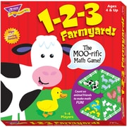 Trend Enterprises® Learning Games 1-2-3 Farmyard Math and Matching Game
