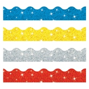 "Terrific Trimmers Sparkle Scalloped 38.75"" x 1.25"", Multicolor (T-92901)"