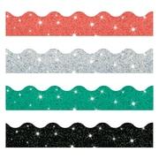 Trend Enterprises® Toddler - 12th Grade Solids Trimmer & Bolder Border Variety Pack, Sparkle
