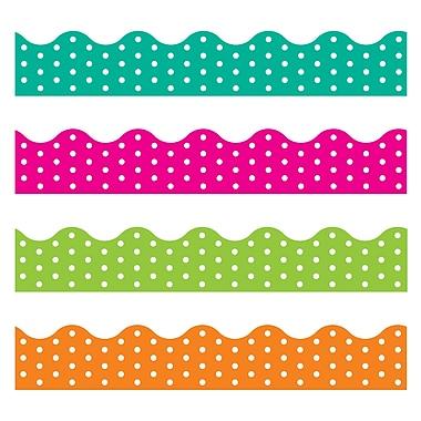 Trend Enterprises Toddler - 12th Grade Terrific Trimmer & Bolder Border Variety Pack, Polka Dots, 143/Pack (T-92932)