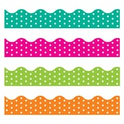 Trend Enterprises® Toddler - 12th Grade Terrific Trimmer & Bolder Border Variety Pack, Polka Dots