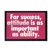 Trend Enterprises® ARGUS® Poster, For Success Attitude Is As Important As Ability
