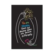 Trend Enterprises® ARGUS® Poster, You Are Valuable