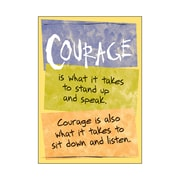 Trend Enterprises® ARGUS® Poster, Courage Is What It Takes