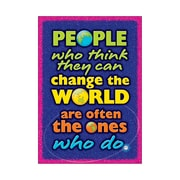 "Trend Enterprises® ARGUS® 13 3/8"" x 19"" ""People Who Think They Can..."" Poster"