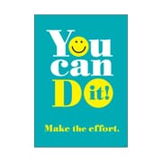 """Argus® 19 x 13"""" You can DO it! Poster (T-A67050)"""