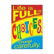 "Argus® 19 x 13"" Life Choose Carefully. Poster (T-A67062)"