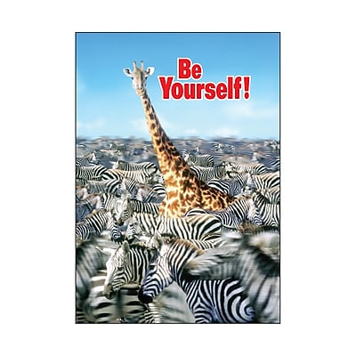 Trend® Educational Classroom Posters, Be yourself!