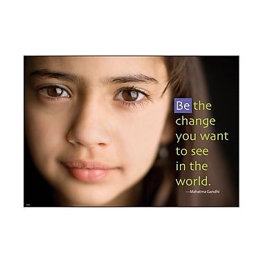 Trend Enterprises® ARGUS® Poster, Be The Change