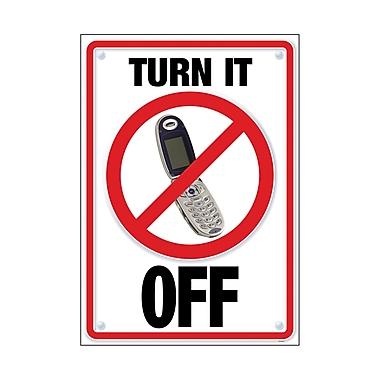 Trend Enterprises® ARGUS® Poster, Turn It Off