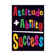 Trend Enterprises® ARGUS® Poster, Attitude + Ability = Success