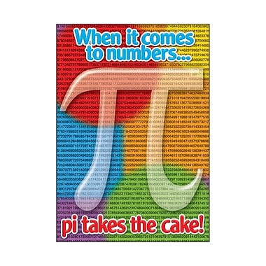Trend Enterprises® ARGUS® Poster, When It Comes To Numbers, Pi Takes The Cake