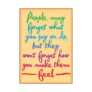 Trend Enterprises® ARGUS® Poster, People May Forget What You Say