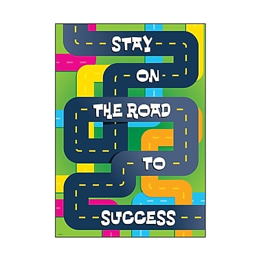 Trend Enterprises® ARGUS® Poster, Stay On The Road To Success