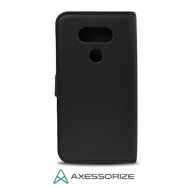Axessorize Folio Cell Phone Wallet Case for LG V20, Black (FOLV20N)