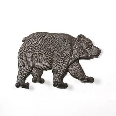 Crochet mural en forme d'ours, paq./2