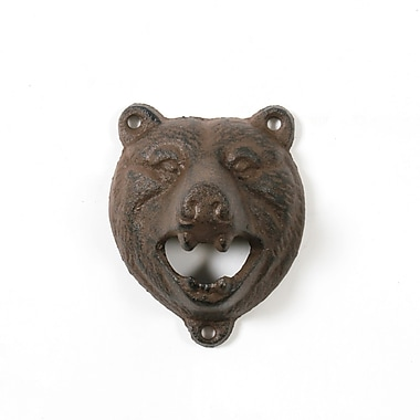 Bear Bottle Opener, 6/Pack