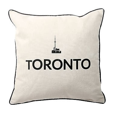 Oreiller de plumes, Toronto, 6,75 x 18 x 18, paq./2