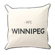 2-Piece Cushion Feather Insert, Winnipeg, 6.75x18x18