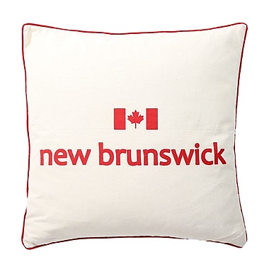 2-Piece Cushion Feather Insert, New Brunswick, 6.75x18x18