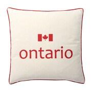 Oreiller de plumes, Ontario, 6,75 x 18 x 18, paq./2