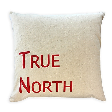 2-Piece Cushion Feather Insert, True North, Red, 7.5x22x22