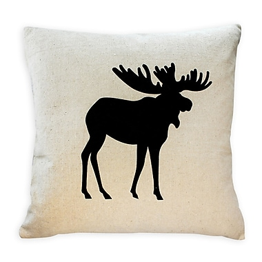 Cushion Feather Insert, Moose, Black, 8x26x26