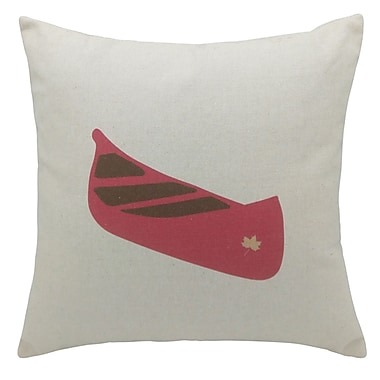 2-Piece Cushion Feather Insert, Canoe, 6.75x18x18