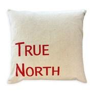 Oreiller de plumes, True North, rouge, 6,75 x 18 x 18 (po), paq./2